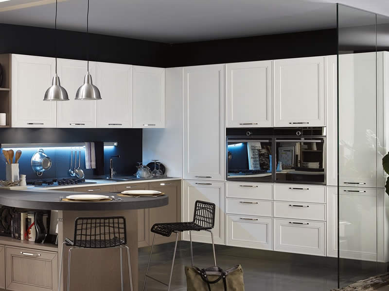 Beautiful cucine moderne stosa photos for Meroni lissone arredamenti